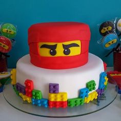 Quero Cupcakes: Festa tema Ninja Go