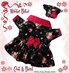 Dog Clothes Pattern To Sew Girls Coat