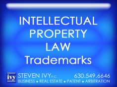 TRADEMARK PRACTICE -- A trademark can be a word, phrase, symbol or design, or a combination of words, phrases, symbols or designs, that identifies and distinguishes the source of the goods of one party from those of others. STEVEN IVY P.C. specializes in trademark procurements. In addition, our law firm handles a wide range of other intellectual property issues, such as patents, copyrights, trade secrets and post-grant reviews.