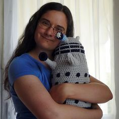 Never thought a Doctor Who Dalek could be cuddly? You need to see this squishy ball of hate via GeekCrafts