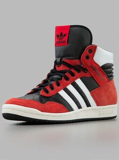 Adidas Pro Conference Hi Black Hirered Run White. Adidas  ShoesConferenceSports ...