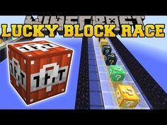 Minecraft: EPIC SO MANY LUCKY BLOCKS RACE - Lucky Block Mod - Modded Mini-Game - YouTube