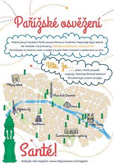 Romantická a krásná #Paříž má i své praktické stránky. Ve městě jsou fontánky s pitnou vodou, a tak ji nemusíte draze kupovat! Další tipy na zájezd do Paříže vám prozradíme zde: http://www.radynacestu.cz/magazin/pariz/