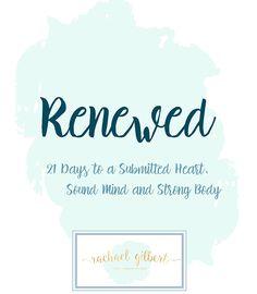 The RENEWED Devotional - Rachael Gilbert