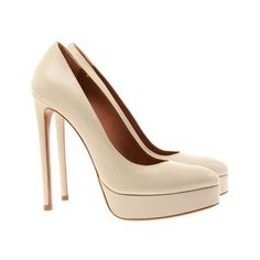 Leather court shoes from Azzedine Alaia
