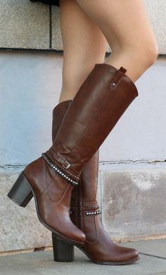 botas montaria - winter boots - marrom - Inverno 2015 - Ref. 15-1101