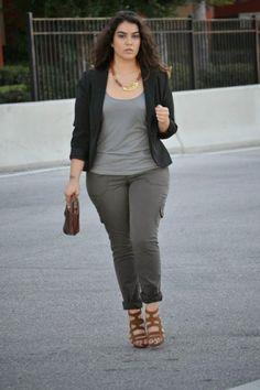 Fashion for plus size ladies