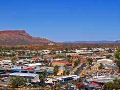 View of Alice Springs, Australia. I lived there 1994-1997.