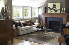 Ralston Avenue Residence by Urrutia Design  - mantle
