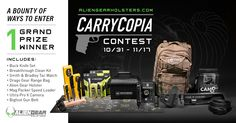 33 Hours Left To Enter to win this Carrycopia EDC Or Field & Hunting Prize Package Giveaway From Bigfoot Gun Belts, Buck, Alien Gear, Drago Gear & Many More!, https://wn.nr/EkZ4jG  Enter & Share!,