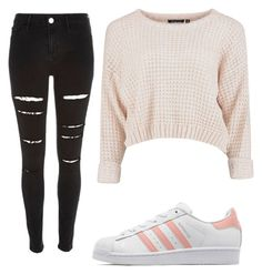 """Cool"" by leonorabuffo on Polyvore featuring mode, River Island et adidas Originals"