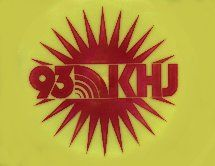 "this station~ 93 KHJ ""Boss Radio"" became a hit music station in May 1965. KHJ SUN STICKER -- c. 1978"