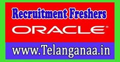 Oracle Corporation Recruitment 2016-2017 For Freshers Apply   Oracle Corporation Recruitment 2016-2017 for Freshers-Apply online for  Ora...