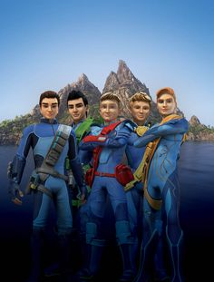 The New-Look Tracy brothers are F.A.B.Thunderbirds Are Go!