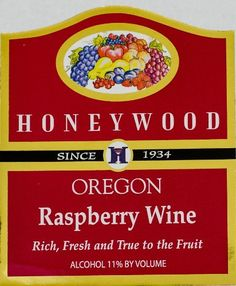 NV Honeywood Winery Raspberry Fruit Wine 750 mL -- Check out the image by visiting the link.