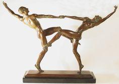 Frishmuth Bronze | PAS DE DEUX Bronze Statue - After HARRIET FRISHMUTH - Lewis Wayne ...