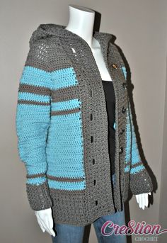 Welcome to the Cre8tion Crochet Hooded, Ribbed Front Cardigan CAL.  This pattern currently doesn't have a name… how sad is that?  What do you think about this?  Think of a good name, comment on this form, and I will gift the winning person 5 of my premium crochet patterns for FREE. This cardigan is made [...]