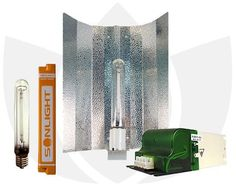 Nettikauppa: hydroponics.eu  250W AGRO Kit Sonlight