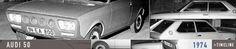 OG | 1974 Audi 50 Typ86 / NSU Project K50 | Prototype to replace NSU Prinz