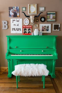 A Painted Piano | Cents Of Style LOVE it!!!