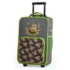Despicable Me Minions Pirate Wheeled Luggage Case by Travelpro - Kids