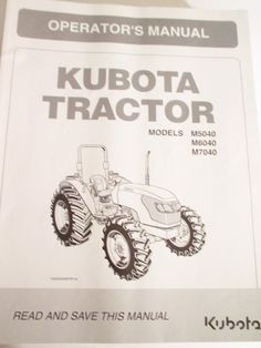 Click on image to download kubota tractor b6200 b7200 hst b6200hst kubota tractor m5040 m6040 m7040 operators manual sciox Images