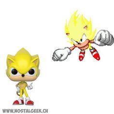 Figurine Funko Pop Games Sonic Super Sonic Edition Limitée geek sui... Funko Pop, Game Sonic, Bd Comics, Pop Games, Manga, Tweety, Pikachu, Geek Stuff, Fictional Characters