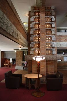 Frank Lloyd Wright Imperial Hotel Guest Room Interior