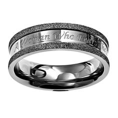 """Christian Womens Stainless Steel Abstinence Silver Champagne Saved By Grace Chastity Ring for Girls - """"Saved By Grace Alone Through Christ Alone"""" Ephesians 9 - Girls Purity Ring Spirit & Truth Girls Purity Rings, Rings For Girls, Rings For Men, Champagne Ring, Grace Alone, Fear Of The Lord, Saved By Grace, Gifts For Your Mom, Godly Woman"""