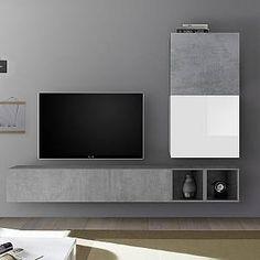 Tv Pas Cher, Tv Unit Design, Laque, Tv Cabinets, Flat Screen, Furniture Design, Wall Tv, The Unit, Living Room