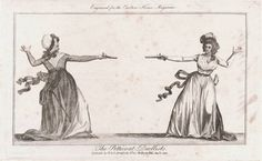 The 'Petticoat Duellists' of 1792 ~ All Things Georgian.
