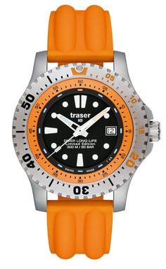 traser® H3 Diver Long-Life Orange Limited Edition mit Silikonband » Das Uhren Portal: Watchtime.net