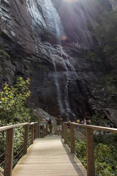 8. Hickory Nut Gorge and Falls
