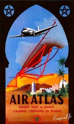 A History of Travel Posters Travel Ads, Travel Images, Vintage Advertisements, Vintage Ads, Vintage Airline, Art Deco Posters, Poster Prints, Belle Epoque, Zeppelin
