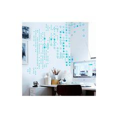 #Decovinilo con una #trama de #puntos de diferentes tamaños / #Vinyldecor #spots #weave with different sizes