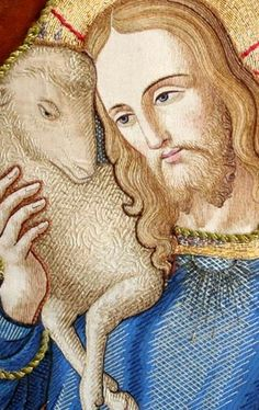 Nice image of the Good Shepherd - not official, just to enjoy