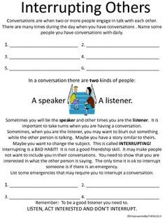 communication skills worksheets for adults - Google Search