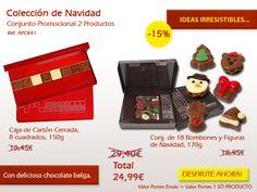 ¡Figuras de chocolate + mensaje de chocolate! ¡La combinación perfecta! Nuestras ofertas:http://www.mysweets4u.com/es/?o=2,5,202,49,0,0