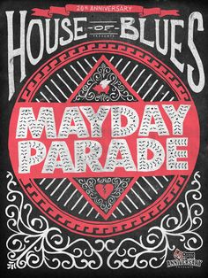 House of Blues 20th Anniversary and Glamour Kills Presents Mayday Parade #emo #pop #punk #rock