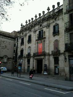 Palau de la Virreina en Barcelona, Cataluña