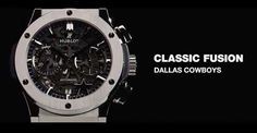 HUBLOT DALLAS COWBOYS OFFICIAL WATCHES #hublot #coyboys #watch http://wp.me/p4zHON-2yl