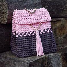 Die 75 Besten Bilder Von Rope Garn Tasche Crochet Bags Crochet