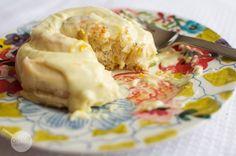 Lemon Orange Rolls with Vanilla Bean Frosting