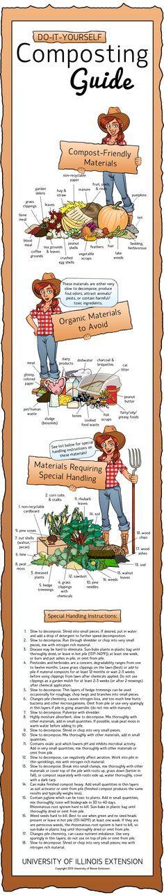 Petit guide pour le tri au compostage