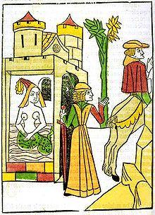 Melusine (Le livre de Melusine, Jean D'Arras, 1478) via Wikipedia, the free encyclopedia