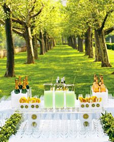 Build a Great Bar    After the ceremony, your guests will be ready to unwind -- and get their drink on. Make sure you've got a well-appointed bar, the manpower to keep the drinks coming, and the signature sips they'll savor.