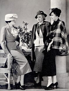 Fashion for Women. End of 1930s