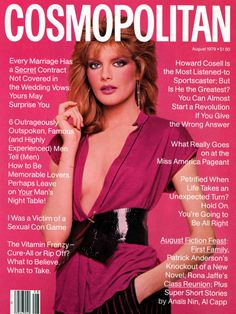 Rene Russo by Scavullo for Cosmo 1979.