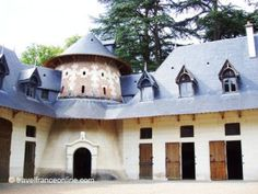 Château of Chaumont sur Loire stables. Built in 1877 bu the Broglie family.