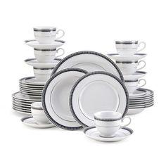 Cobalt 40 Piece Dinnerware Set